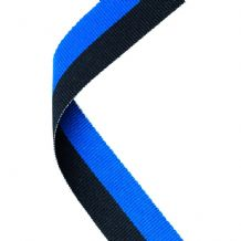 ROYAL BLUE/BLACK RIBBON TWO COLOUR